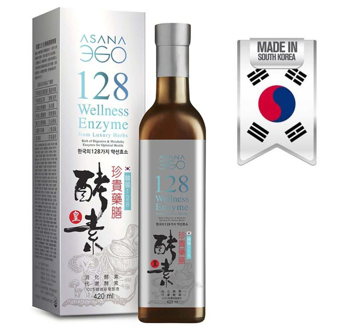 [韓國128酵素皇]-韓國128珍貴藥膳酵素皇 420毫升