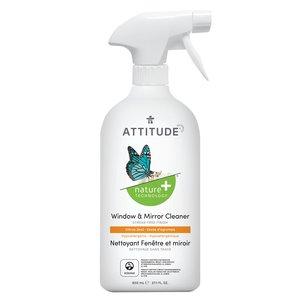 ATTITUDE 天然玻璃清潔劑 - 柑橘香 (800mL)