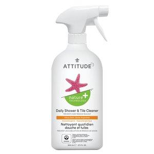 ATTITUDE 日常浴室和瓷磚清潔劑 柑橘香 800mL