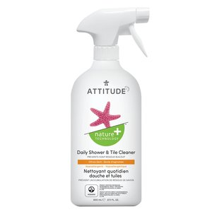 ATTITUDE 浴室每日清潔劑柑橘香 800mL