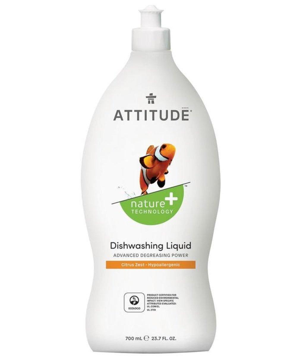 天然環保碗碟清潔液 柑橘香 700mL  (Nature + TechnologyTM)