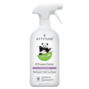 ATTITUDE 天然多用途清潔劑 Nature + 800mL (薰衣草味)