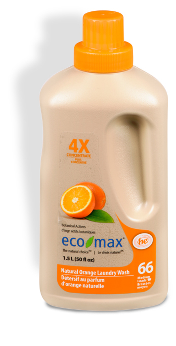 Eco-Max | 4X Natural Orange Laundry Wash | HKTVmall Online