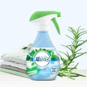 P&G Febreze Double Action Fabric Deodorant Mist 370ml (Herb)