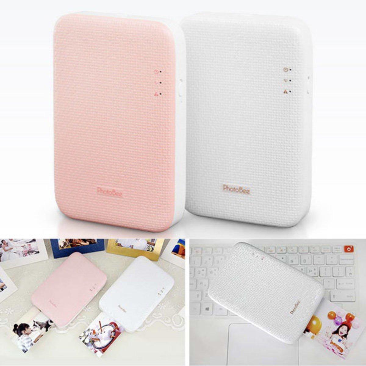 韓國PhotoBee 超高清相片打印機(包12張相紙) (Pink)
