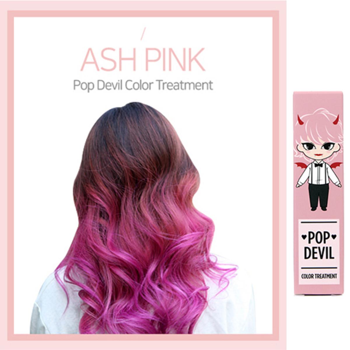 Popdevil Color Treatment Ampoule ASH (Ash Pink)