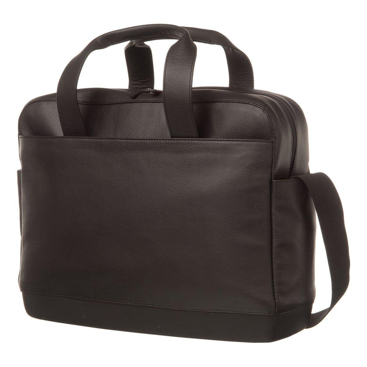 Moleskine CLASSIC LEATHER BAG UTILITY BLACK
