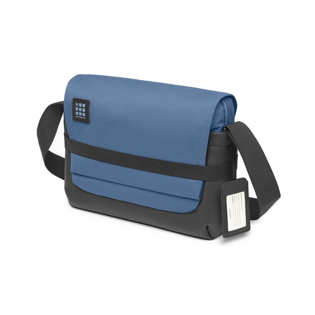 Moleskine ID Messenger Bag for Digital Devices up to 15'' BOREAL BLUE