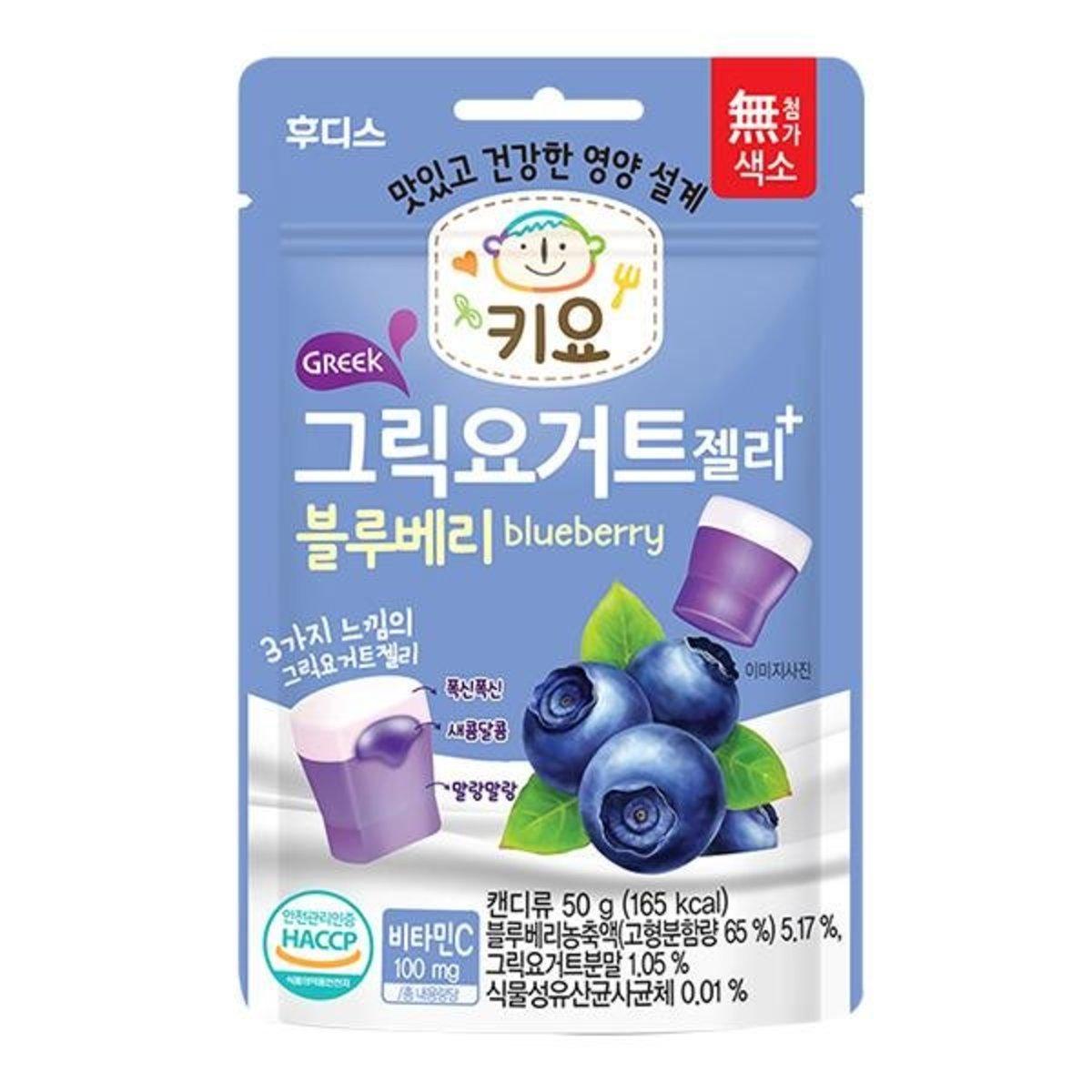 ILDONG Keeyo 乳酪果凍橡皮糖(藍莓) 適合24個月或以上