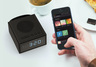 CHRONO IPX5 Portable Bluetooth Speaker w/ FM Radio + Alarm (Black)