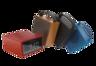 CHRONO IPX5 Portable Bluetooth Speaker w/ FM Radio + Alarm (Red) 1 Year Warranty