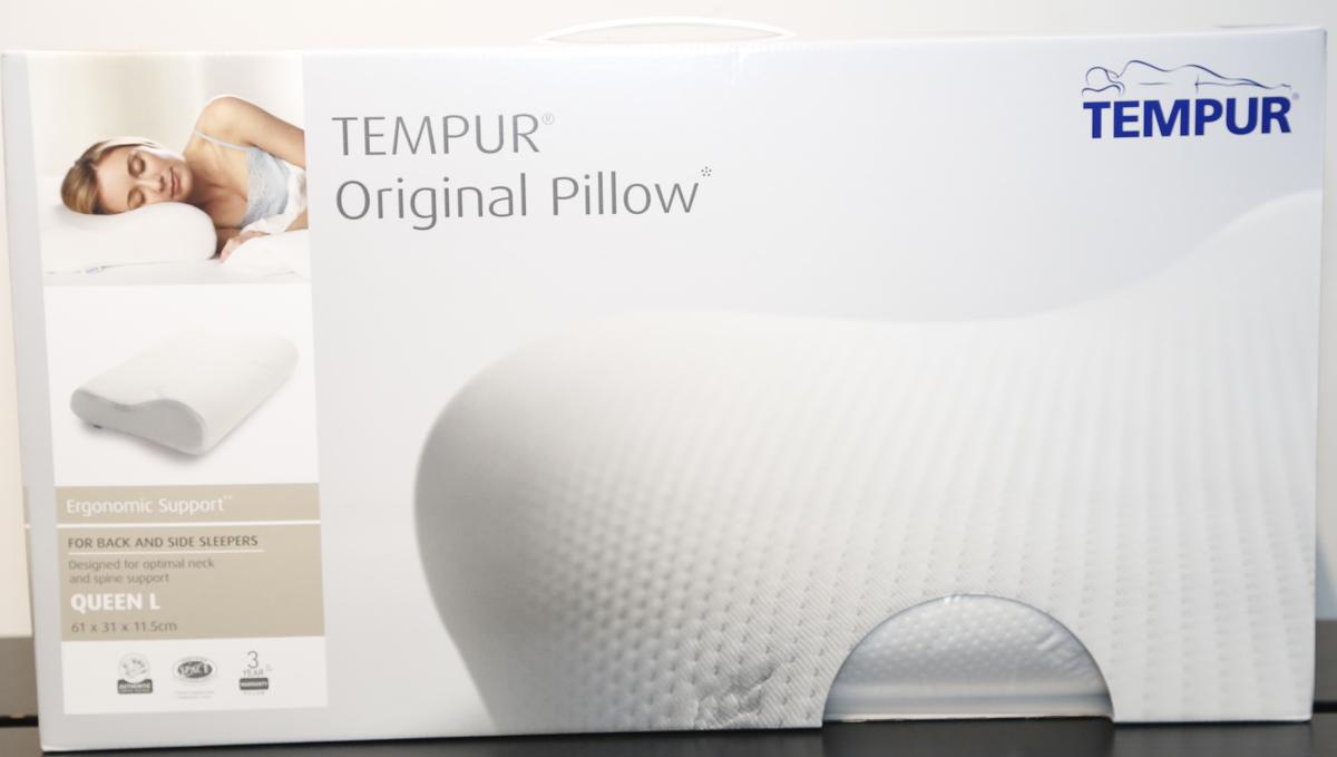Tempur 丹普-人體工學系列  原創感溫頸枕 Queen大碼