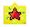 Upixel Bright Kiddo Pixel Art Panel - Yellow
