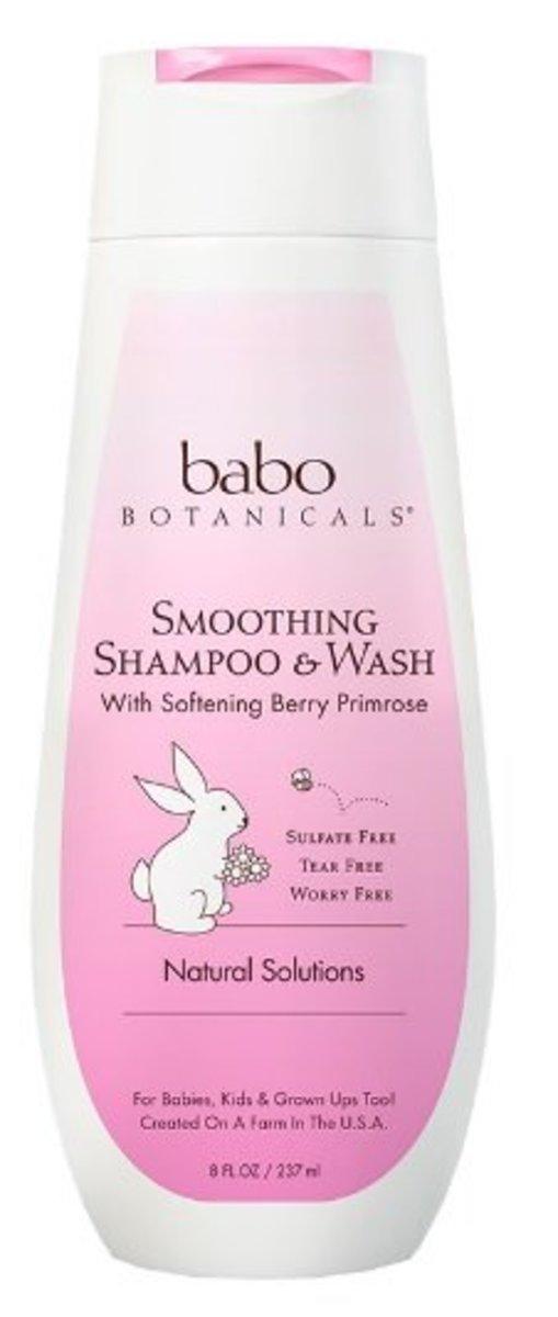 Babo Smoothing Berry Primrose Series - Shampoo & Body Wash