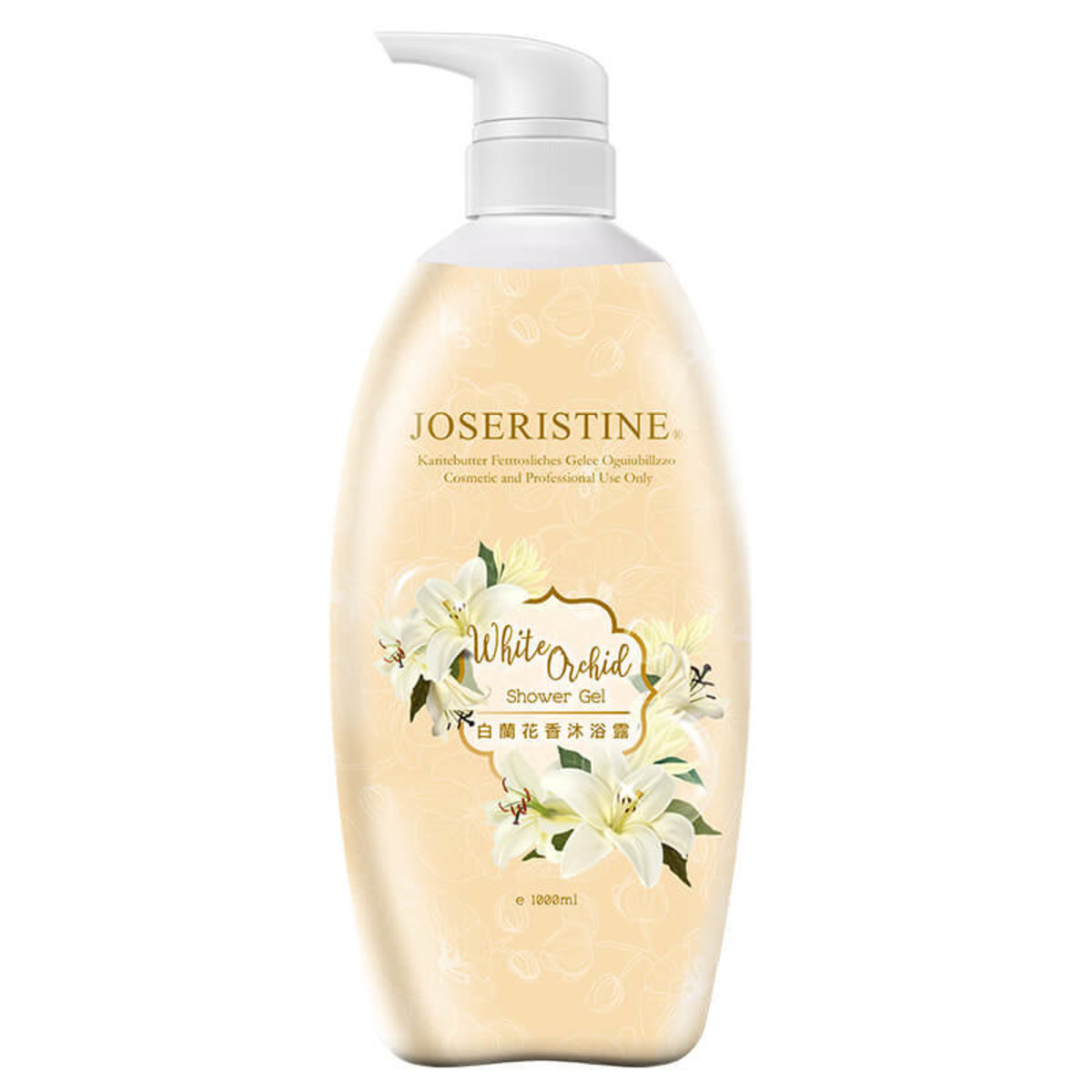 White Orchid Shower Gel