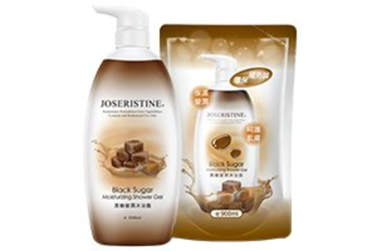 Black Sugar Moisturizing Shower Gel Bundle