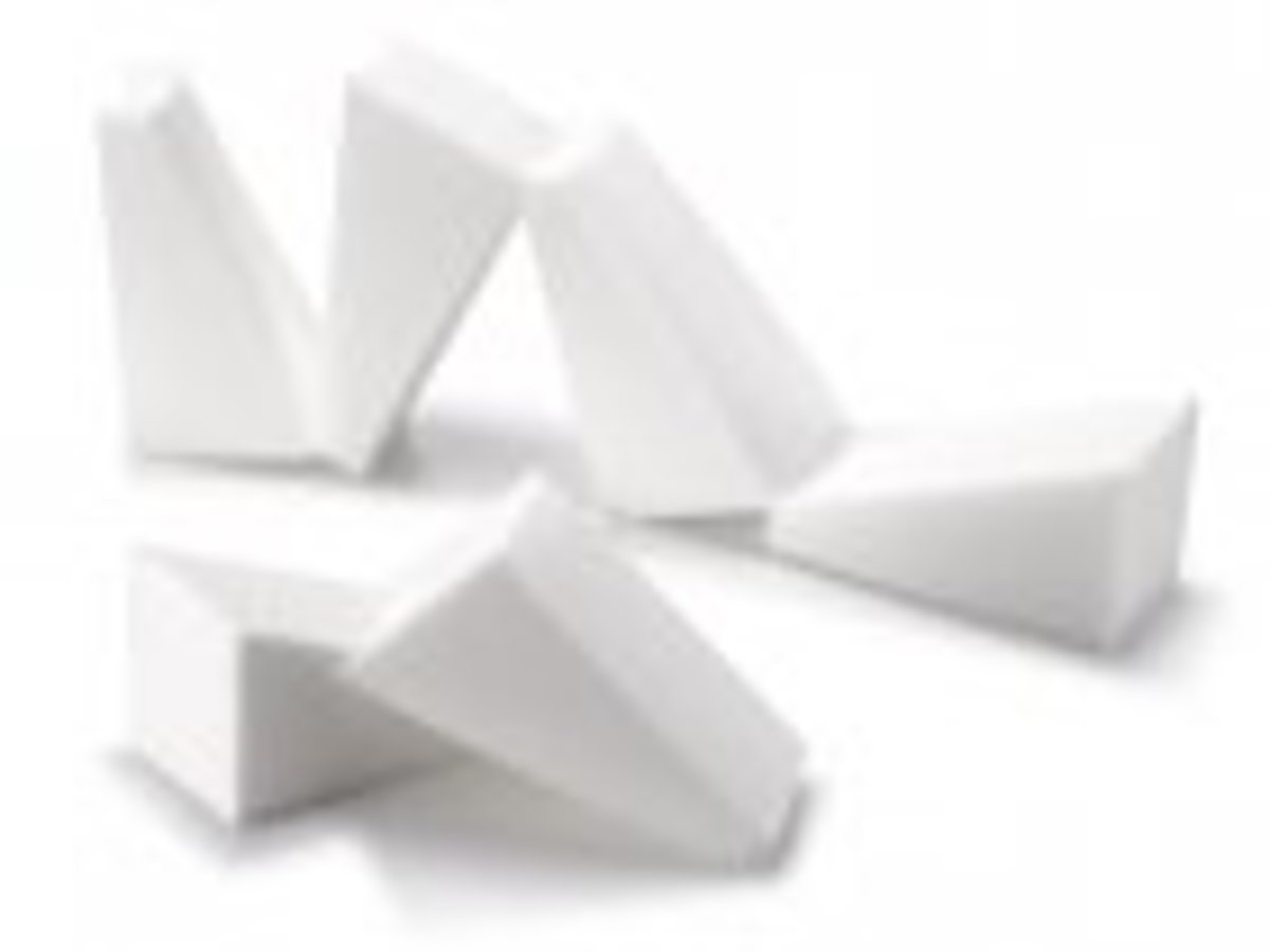 Make Up Sponges (Triangular)