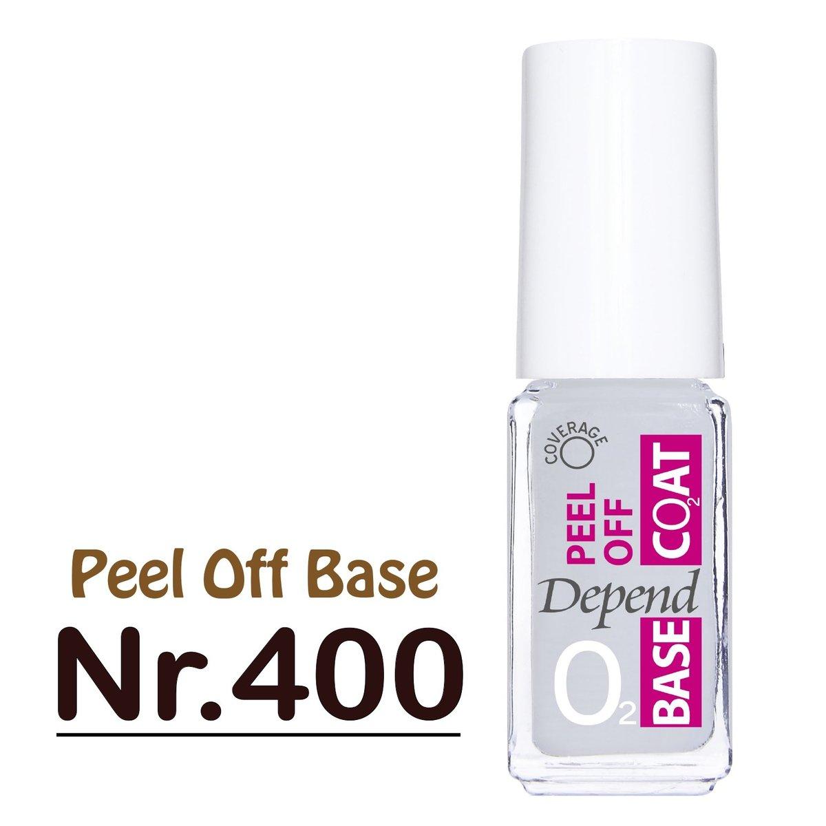 Nail Polish Oxygen A400 Glitter Base Coat