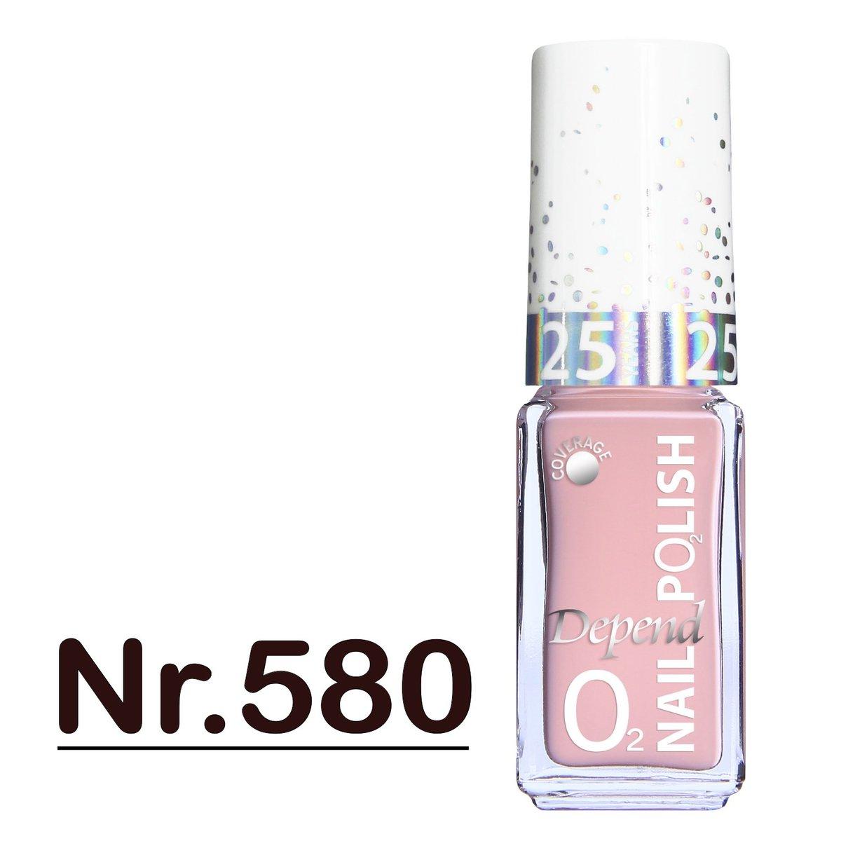 Minilack Oxygen färg A580 5ML