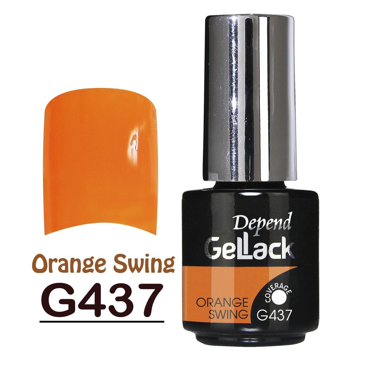 Gellack nr 437 5ml - Orange Swing