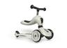 Highwaykick 1 (1 yr+) Ash (3 Wheels) Scooter + Balance bike