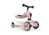Highwaykick 1 (1 yr+) Rose (3 Wheels) Scooter + Balance bike