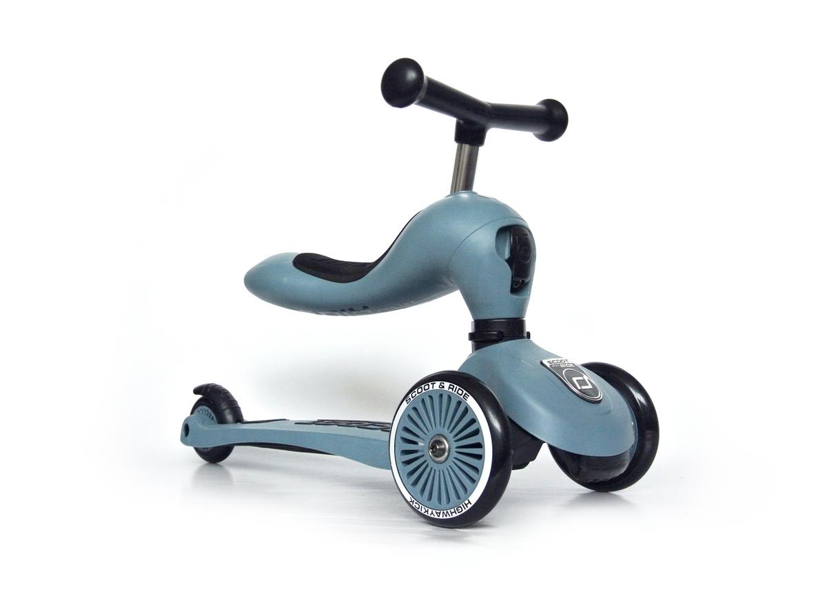 Highwaykick 1 (1 yr+) Steel (3 Wheels) Scooter + Balance bike