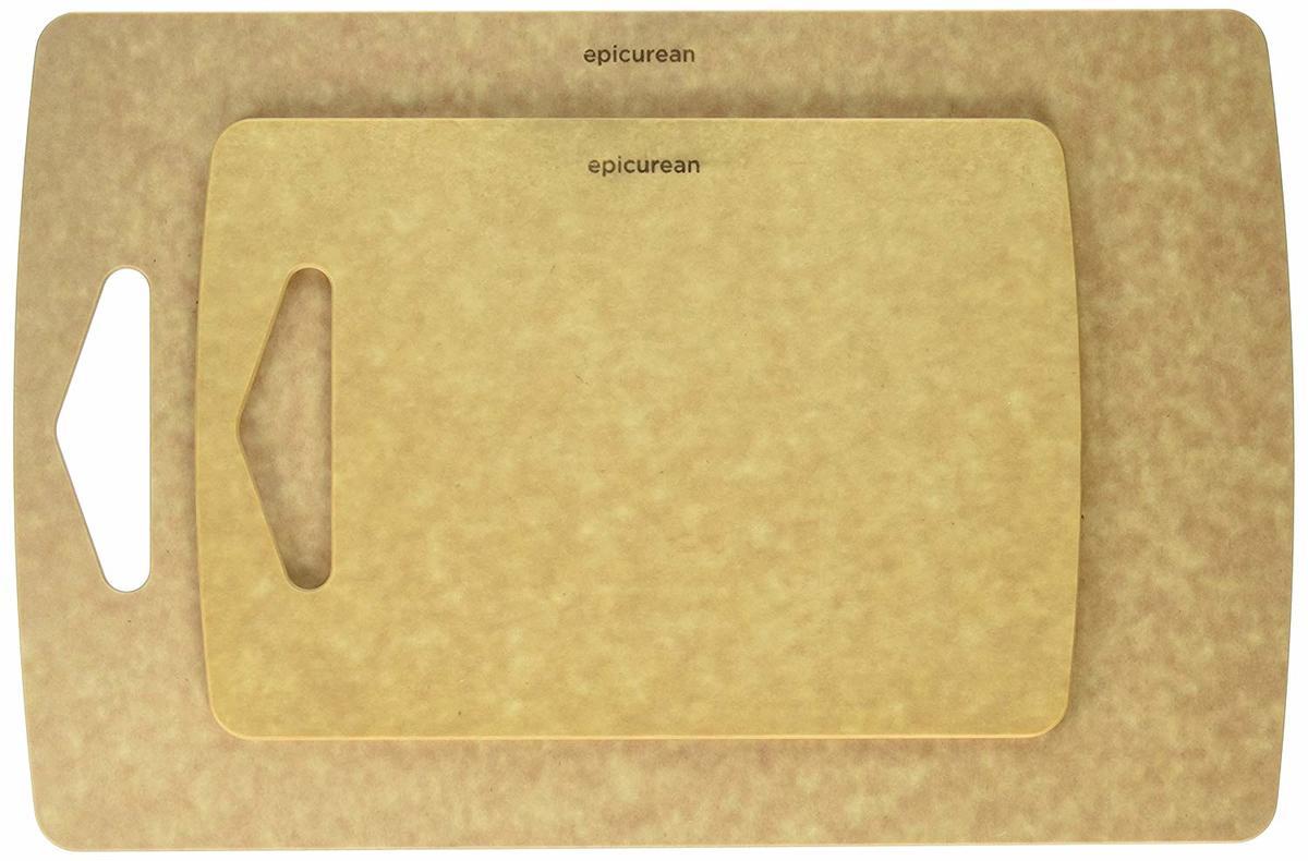 Chopping board Set, 2 piece, natural (U.S.A. Version)