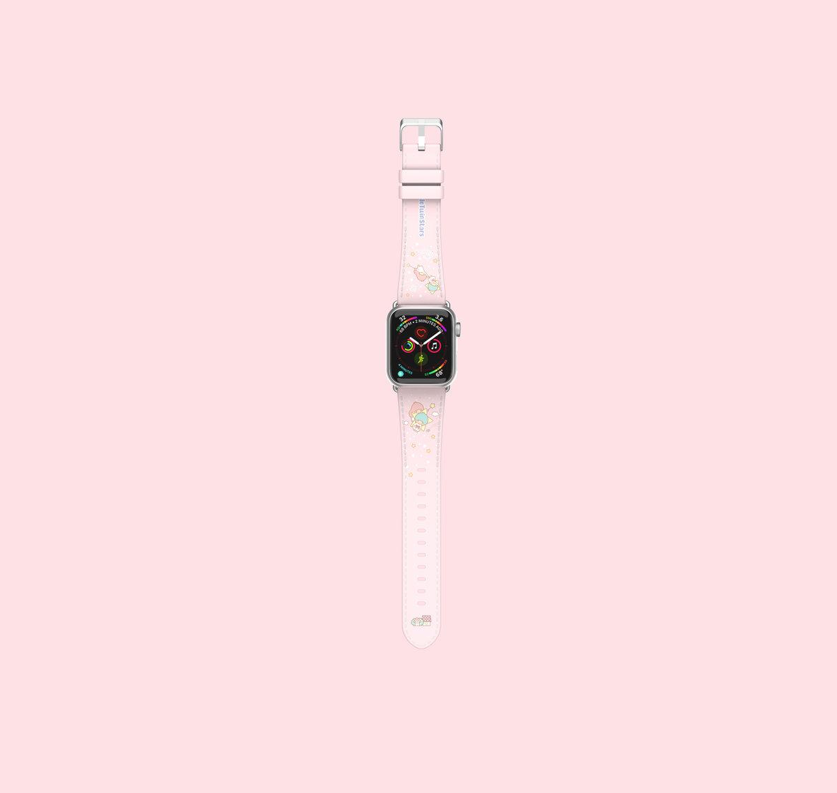 thecoopidea X Sanrio Little Twin Stars Apple Watch Strap 42mm/44mm