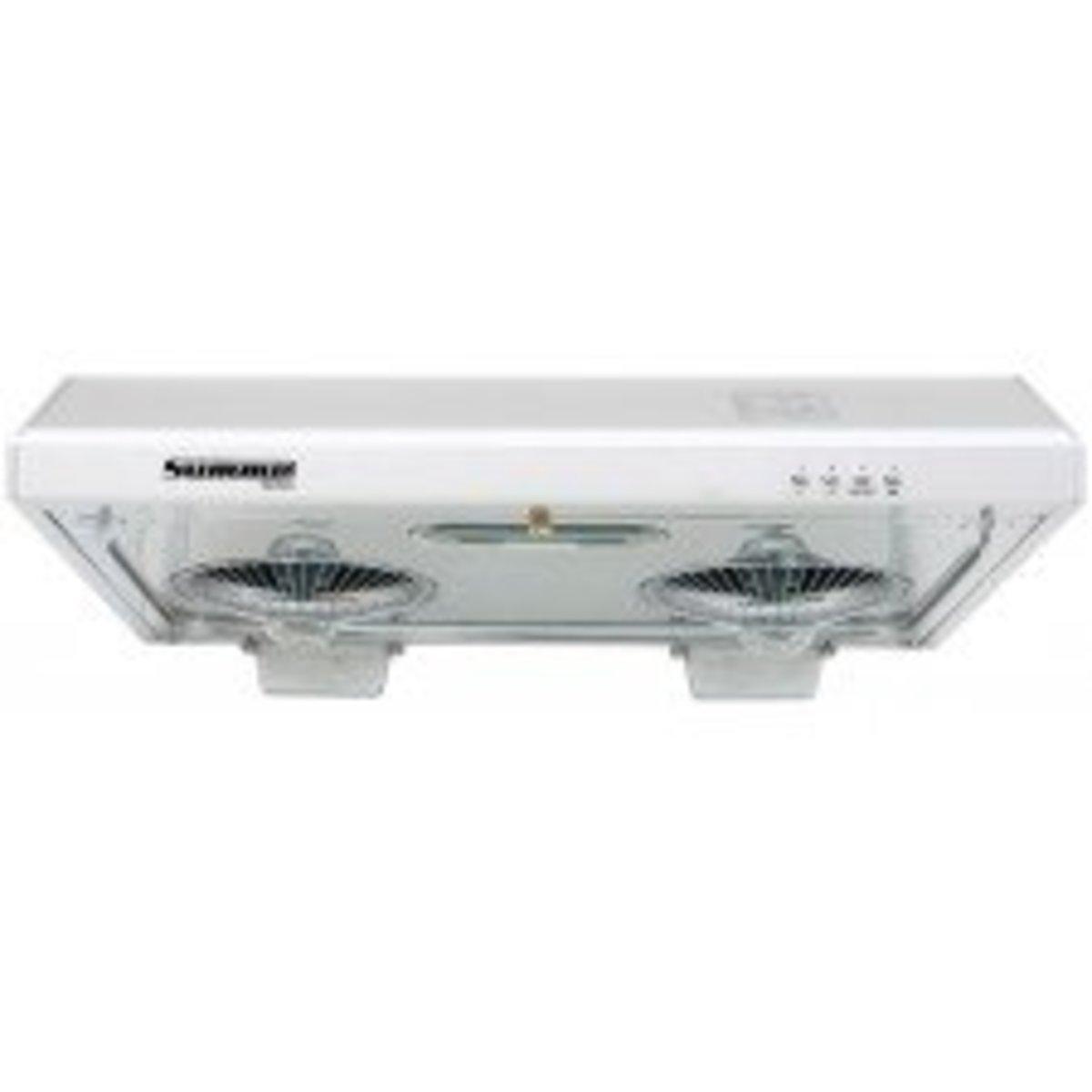 "FV-711N ""Sirocco"" Range Hood (Switch button design) (LED lamp model) Silver"