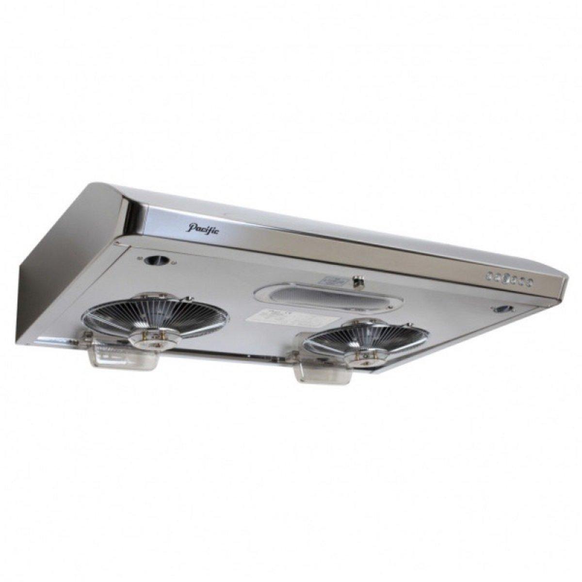 "FV-712N ""Sirocco"" Range Hood (Soft touch design) (LED lamp model) Silver"