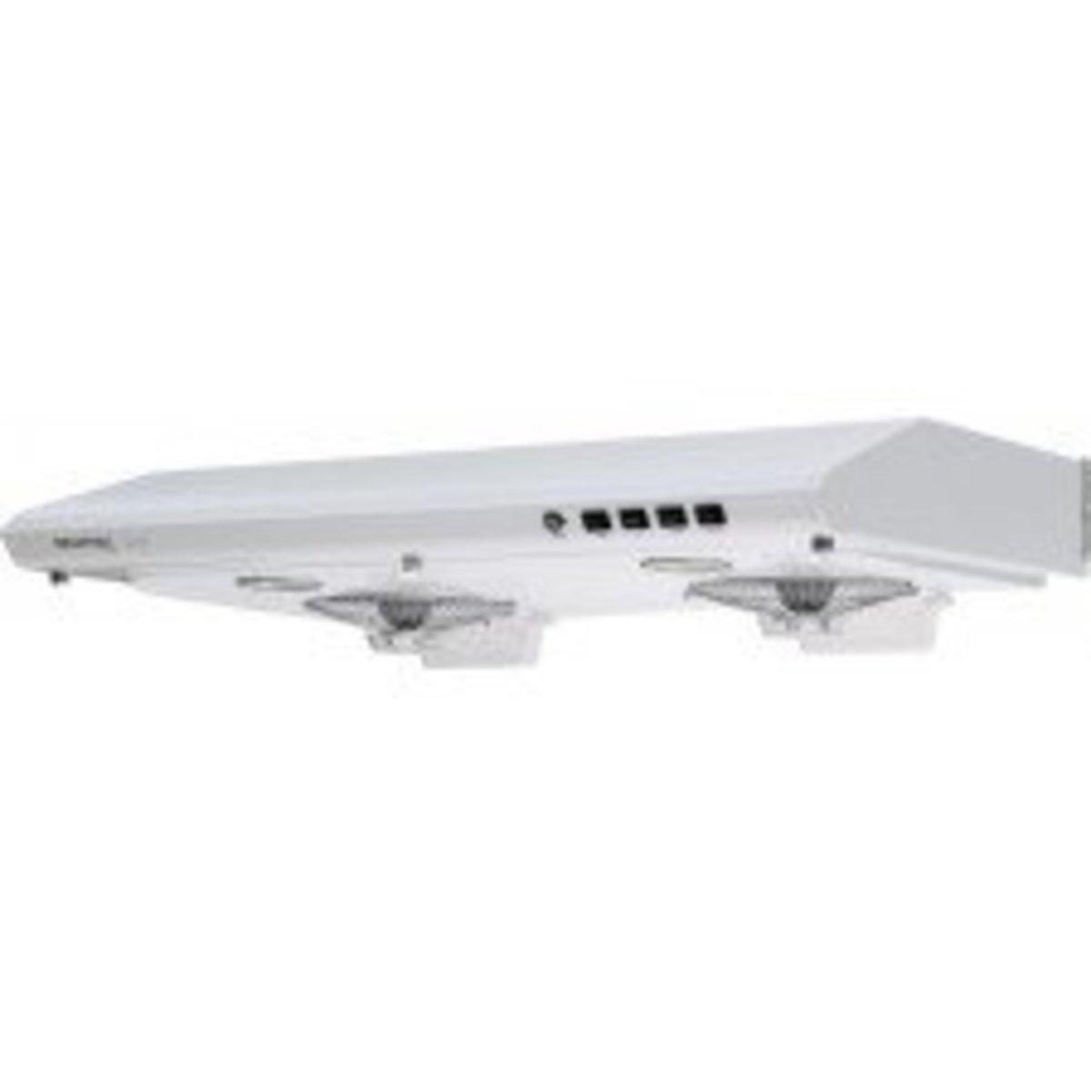 "FV-712N ""雙千翼渦輪""抽油煙機 (輕觸式) (LED 燈型號) 白色"