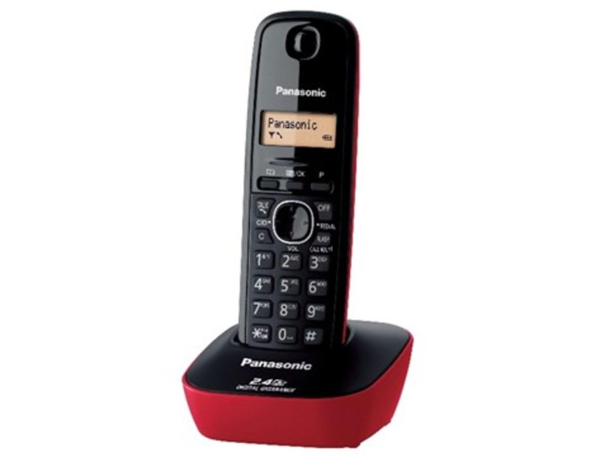 2.4GHz數碼室內無線電話(紅) KXTG3411BXRED