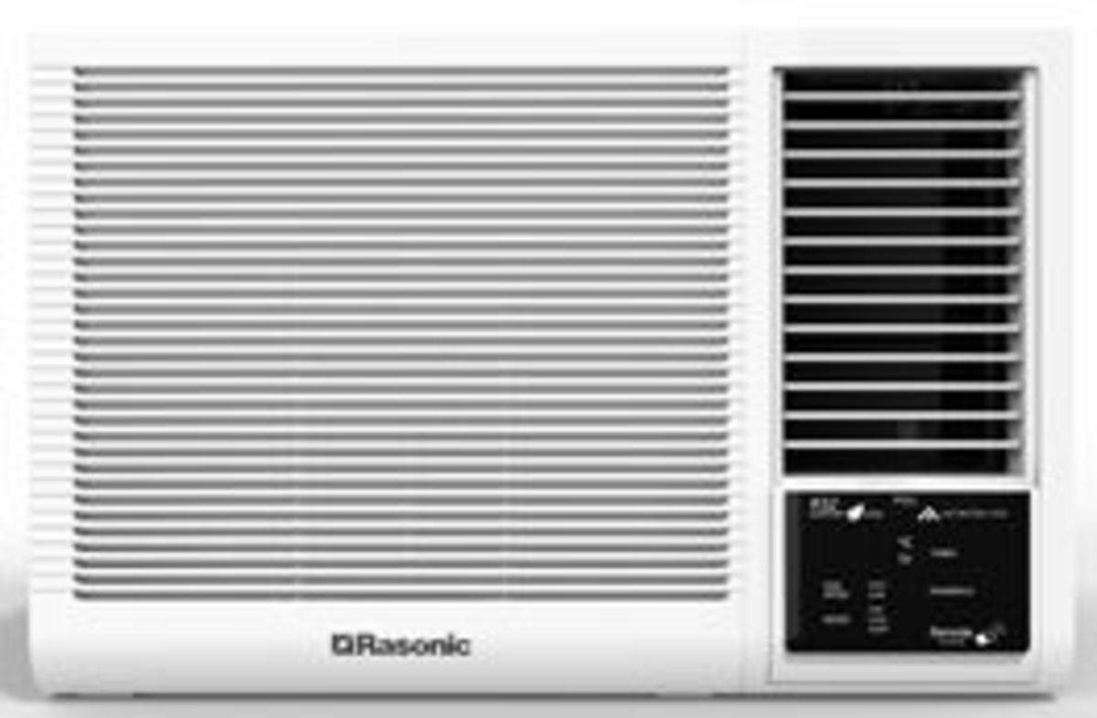 RCXN2419E Window Type Air Conditioner (Remote Control Model) (2.5HP)