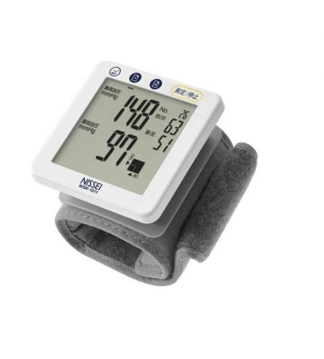 WSK-1011 手腕式血壓計 (日本制造)