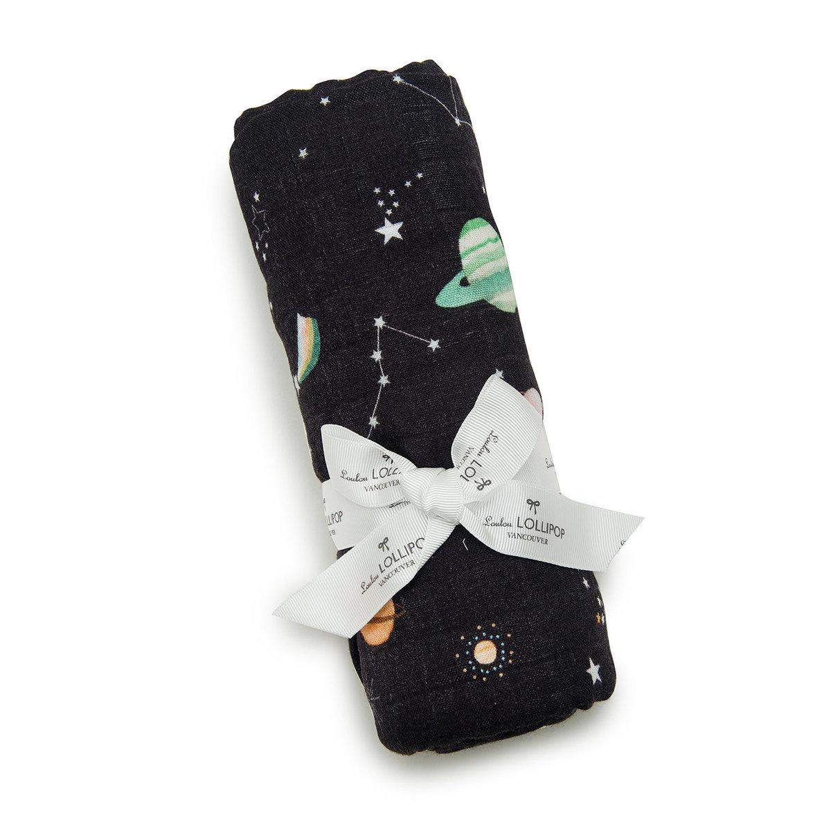 竹纖維包巾 - 行星