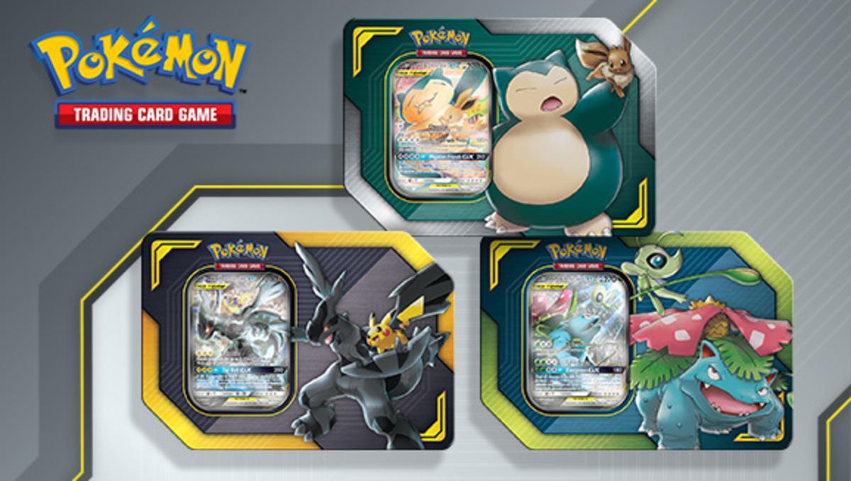 Pokemon | TCG - SM9 TAG TEAM TIN SET - Celebi & Venusaur-GX, Eevee