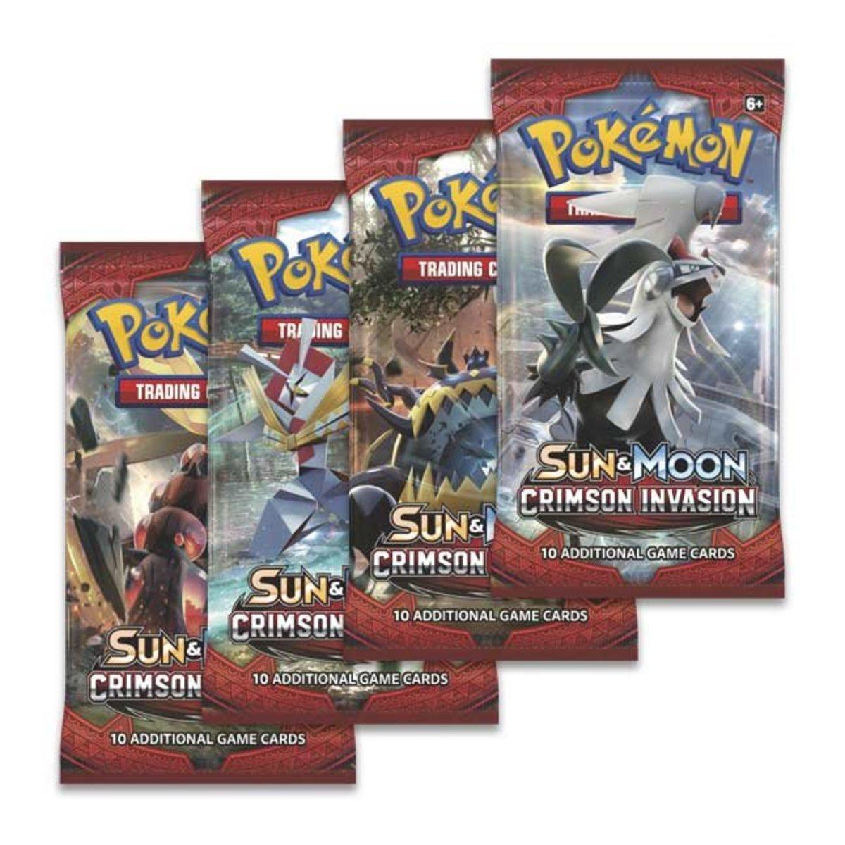 TCG: Sun & Moon Crimson Invasion Booster Pack (4 包 / 隨機)