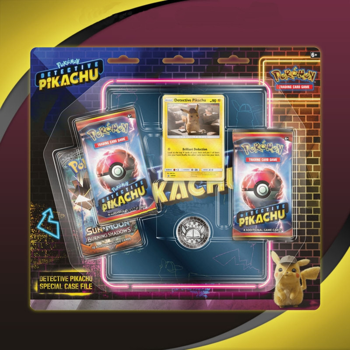 TCG: Detective Pikachu - Special Case File