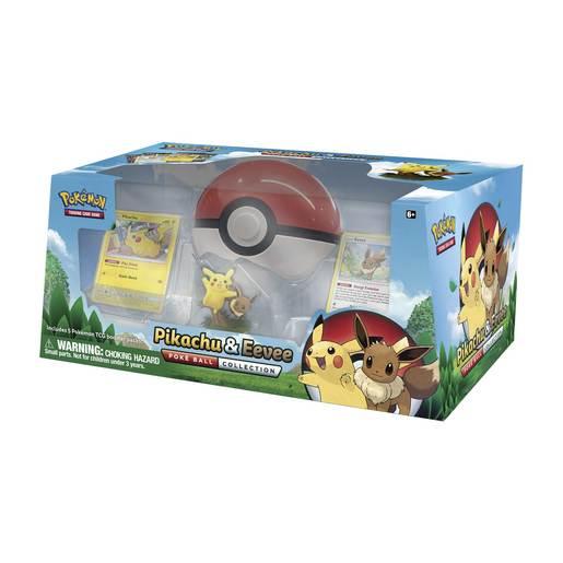 TCG: Pikachu & Eevee Poké Ball Collection (Pikachu and Eevee)