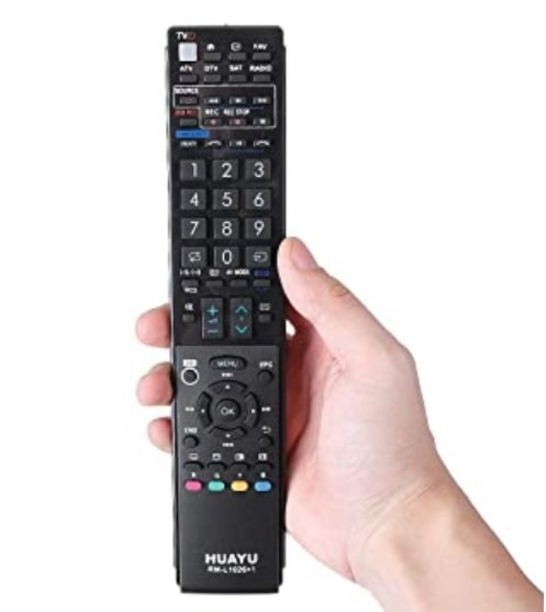 RM-L1026+1 Universal Remote Control for Sharp LED/LCD/HDTV/3D TV