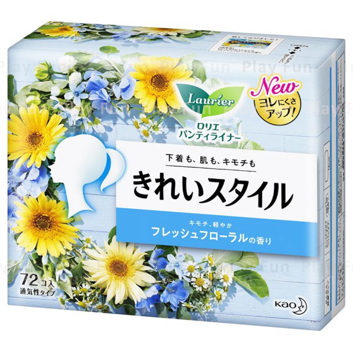 Laurier 護墊清新的花香味72片