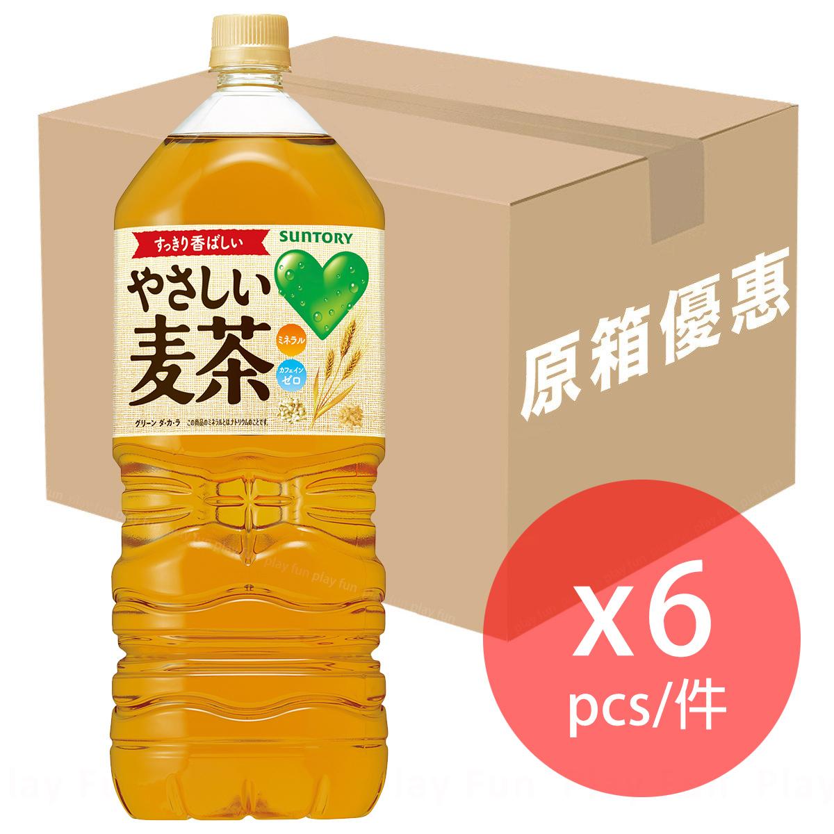 【原箱優惠】[日本版] 麥茶  2L x 6支  (4901777254763_6)