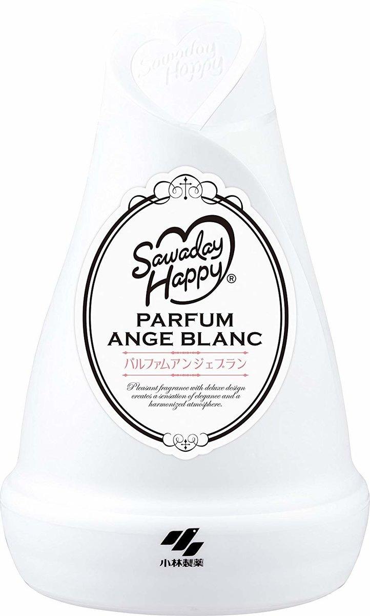 Saeaday Happy 室內芳香劑 150g - Ange Blanc (白)  (4987072047682_1)