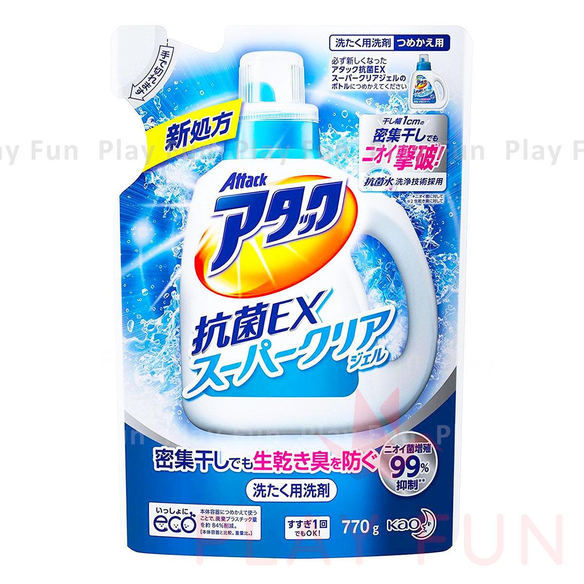 Attack抗菌EX洗衣液((補充裝)) 770g  (4901301335180_1)