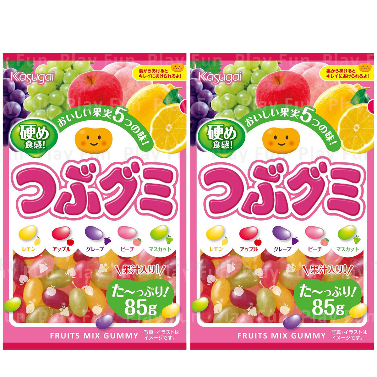 Fruits Mix Gummy 85g  (4901326040151_2)