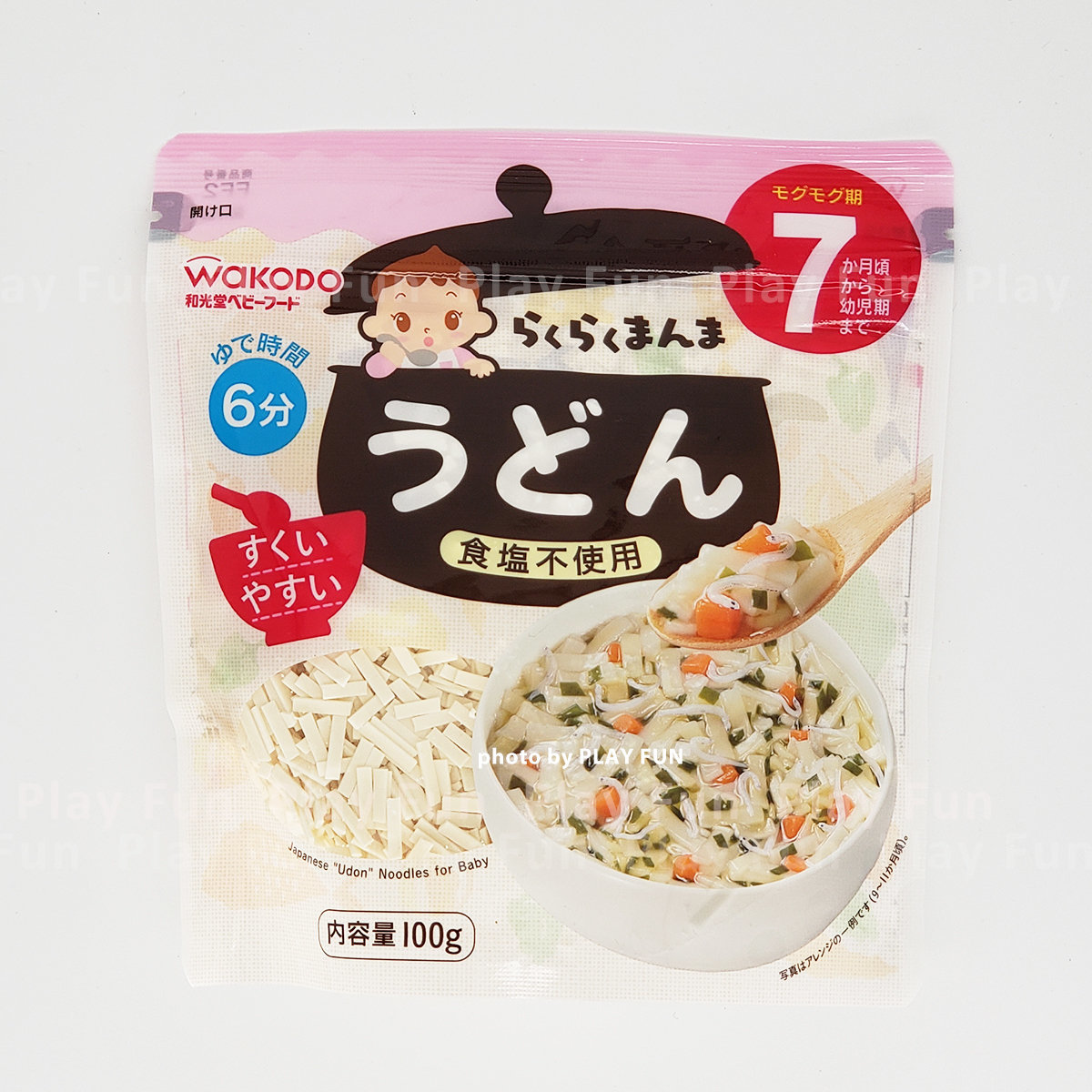 Japanese Udon Noodles 100g [For 7months old baby]  (4987244185242)