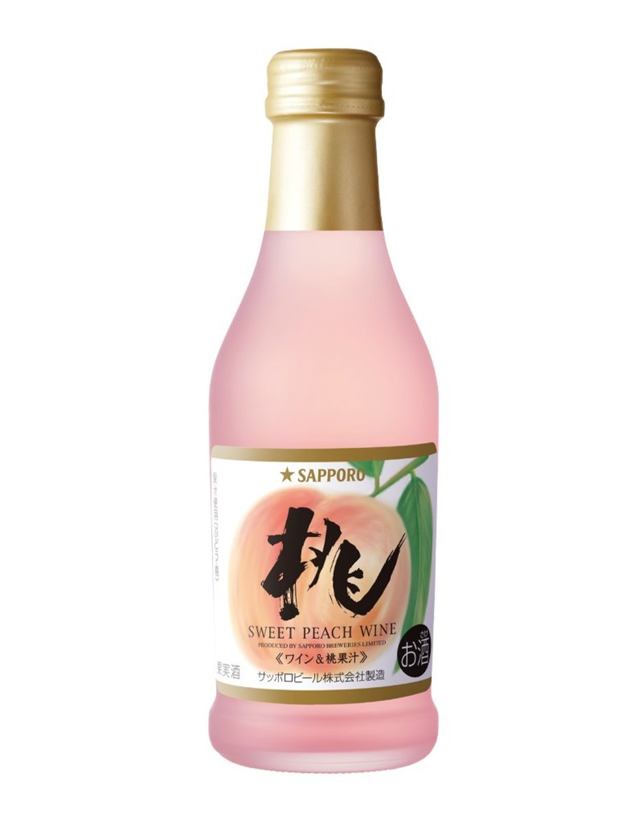 蜜桃酒 200mL  (4901880839116_1)