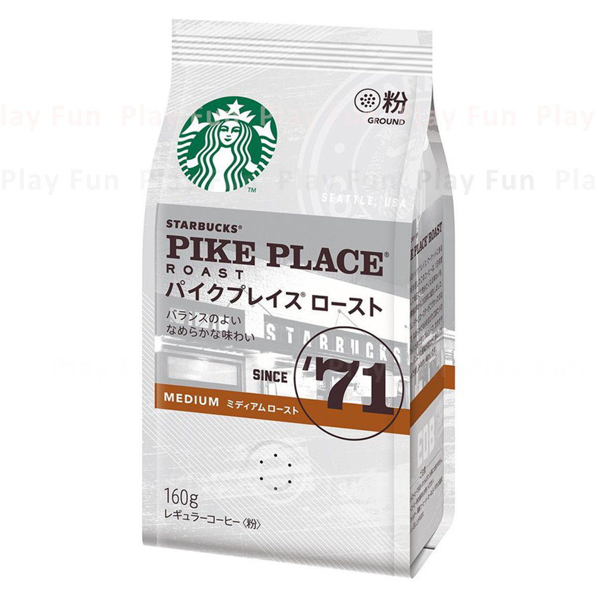 [日本版] 星巴克Pike Place Medium Roast咖啡粉160g  (4902201430449_1)