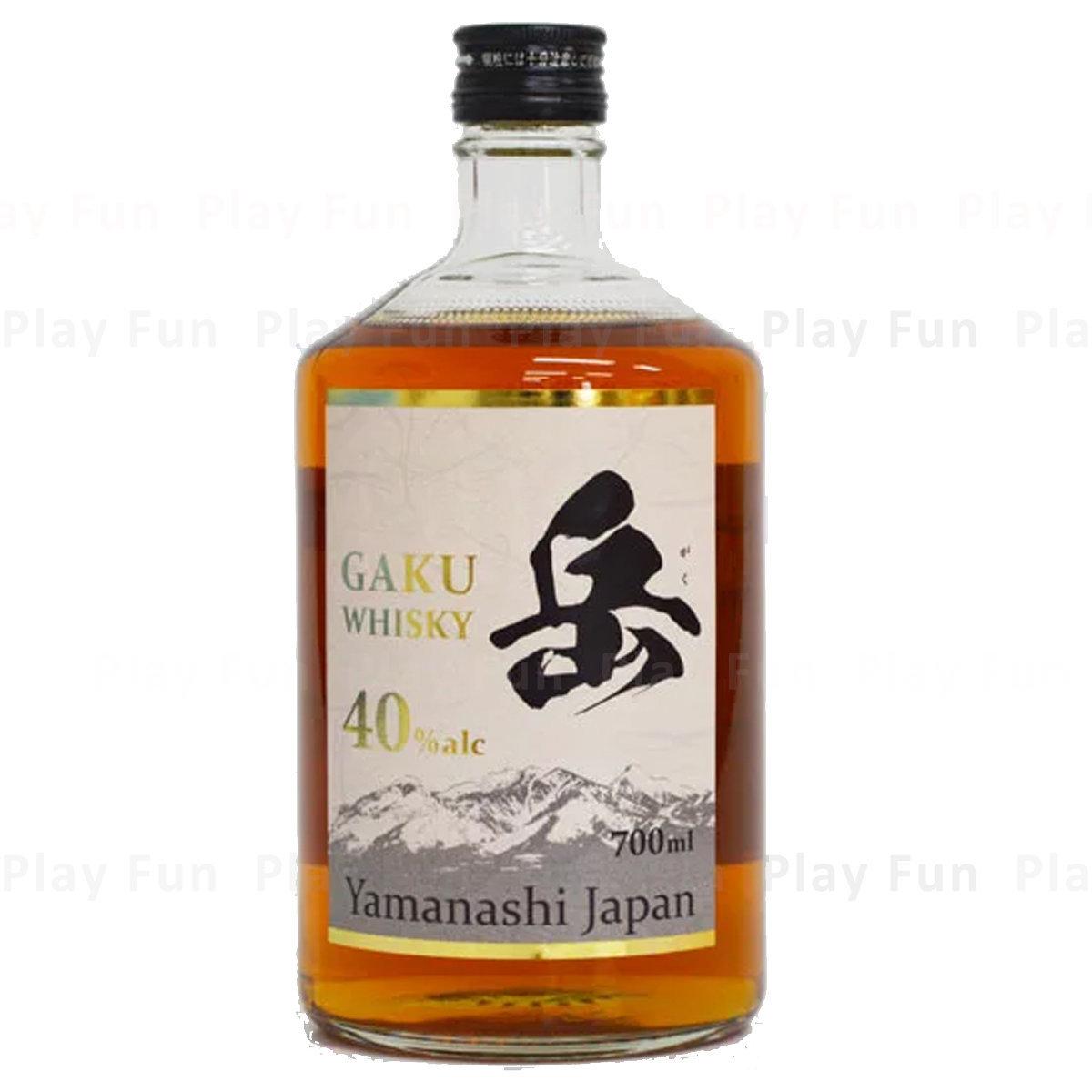 岳 Gaku Whisky ALC.40% 700mL  (4997738171361_1)